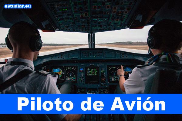 qué estudiar para ser piloto de avión