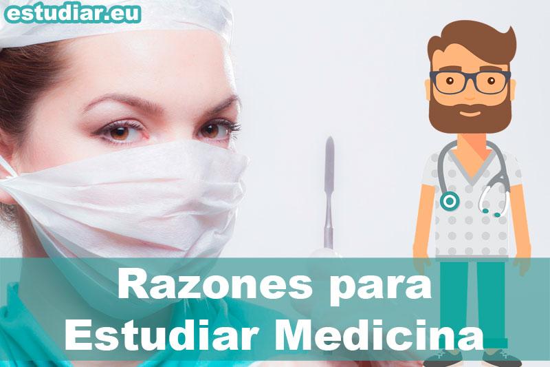 razones para estudiar medicina