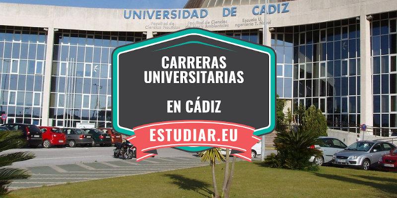 carreras universitarias en Cádiz