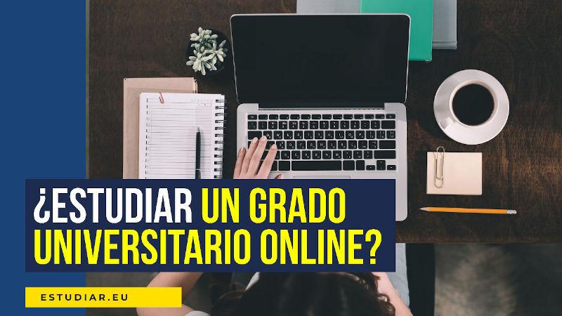 estudiar un grado universitario online