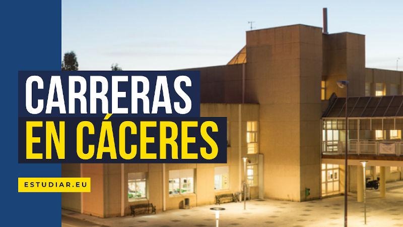 Carreras universitarias en Cáceres