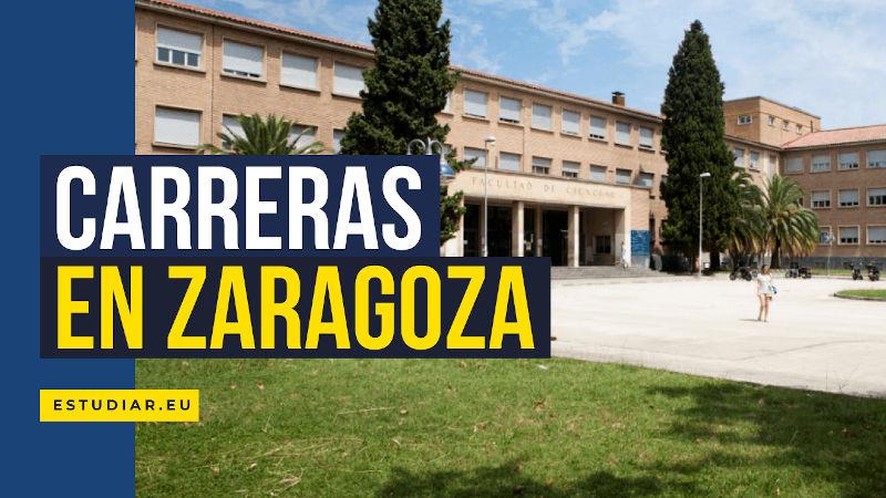 carreras universitarias en Zaragoza