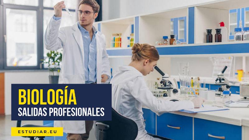 salidas profesionales biología