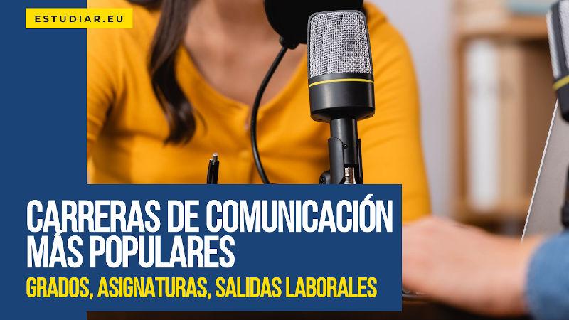 carreras de comunicación más populares